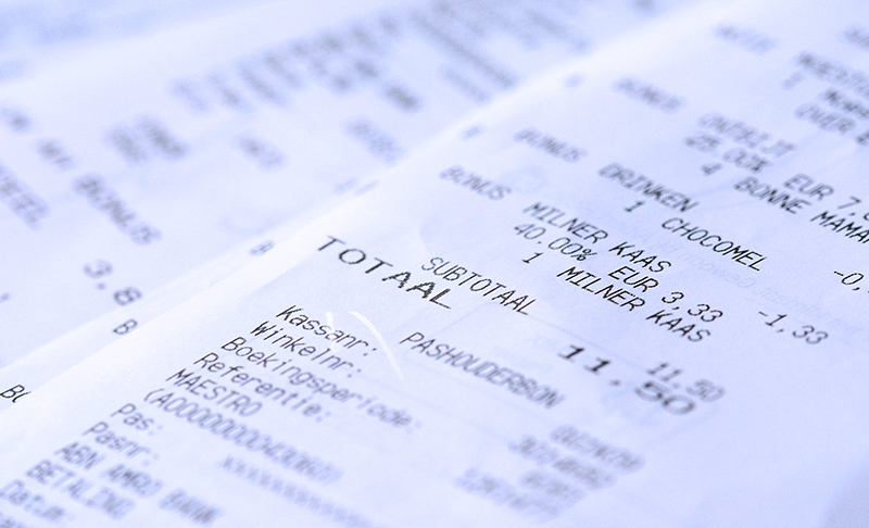 Come sostituire le vecchie ricevute fiscali?