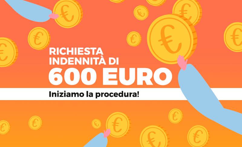 Richiesta indennità di 600€. Iniziamo la procedura!